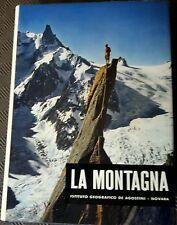 Libro la montagna, istituito geografico de Agostini 1962