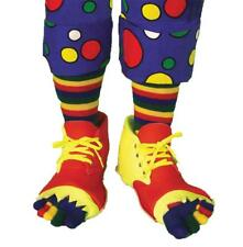 Adult Clown Shoes and Toes Socks Set Costume Accessory Fm55583