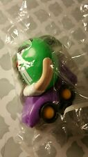 Burger King M&M Green Lady Driving Car Dispencer 1997 New in Unopened Package