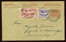 Poland Upper Silesia Stationery Village Postmark