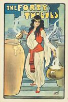 Original Vintage Poster Fort Thieves Theatre London 1920