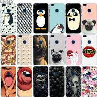 Penguins Phone Case Cover For Huawei P10 P9 P8 Lite P Smart Mate 10 Lite Pro