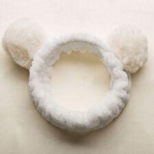 Headbands Wash Face Fur Ball Makeup Headwear Hairband Hair Accessories