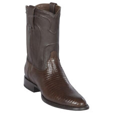 Men's Los Altos Genuine Teju Lizard Roper Boots Round Toe