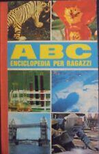 ABC ENCICLOPEDIA PER RAGAZZI AA.VV. PONZONI EDITORE 1968 BB/139