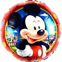 R24F2 Helium Folienballons Minnie Maus Baby Mädchen Geburt Disney Micky balloon