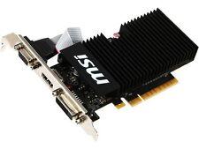 MSI GeForce GT 710 DirectX 12 GT 710 1GD3H LPV1 1GB 64-Bit DDR3 PCI Express 2.0