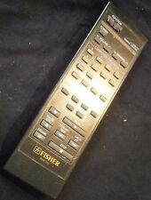 Fisher RVR-950 TV VCR Remote genuine original factory