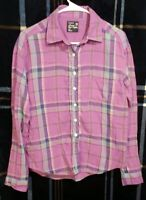 AMERICAN EAGLE Boyfriend Fit Plaid Flannel Shirt sz S FREE SHIPPING!!!