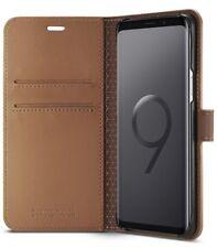 Spigen Samsung Galaxy S9+ PLUS Wallet S Hülle Case Portmonee braun ORIGINAL NEU