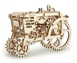 UGEARS Mechanical Wooden Model Kit. MODEL TRACTOR 70003