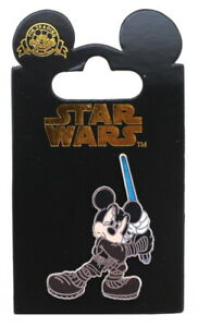 2008 Disney Star WarsMickey Mouse as Anakin Skywalker Pin With Packing Rare