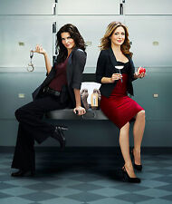 A. Harmon and S. Alexander (Rizzoli and Isles) 8x10 sexy promo poster no text 2