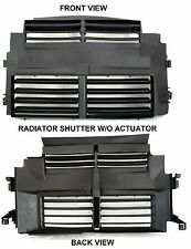 RADIATOR SHUTTER W/O ACTUATOR FOR 2012-2014 FORD FOCUS CM5Z8B455A CM5Z00810A