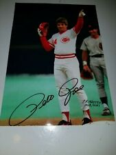 Pete Rose Numbered Ultimate Fan Collectibles 5 X 7 Photo