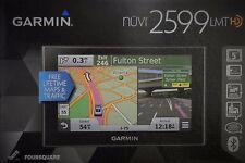 "New Garmin nuvi 2599Lmthd 5"" Bluetooth Auto Gps Lifetime Maps & Hd Traffic Mount"