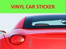 STICKER GNR SILVER CAR VINYL VISIT OUR STORE WITH MANY MORE MODELS TUNNING