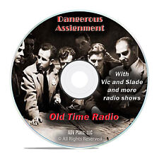 Dangerous Assignment, 942 Old Time Radio Shows, Espionage Spy OTR mp3 DVD G29