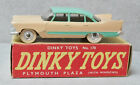 Dinky Toys 178 Plymouth Plaza Light Pink / Green Very Near Mint Boxed