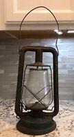 Vintage,Antique,1890, Paull's,Clear Globe,Lamp Oil/Kerosene,Railroad,Lantern