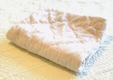 Simply Shabby Chic Pink Velvet Quilted Pillow Sham EUC Cottage