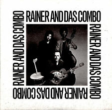 RAINER AND DAS COMBO barefoot rock with 2CD OUT OF PRINT Howe Gelb