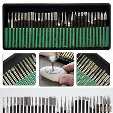 30 Rotary Tool Accessory Diamond Coated Tip Engrave Drill Power Tools for Dremel