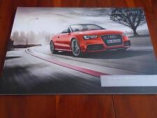 Audi RS5 Cabriolet brochure Dec 2012