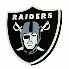 NFL Oakland Raiders 3d Foam Logo Magnet Officially Licensed
