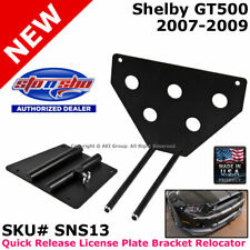 STO N SHO Ford Shelby 07-09 Quick Release License Plate Mounting Relocator SNS13