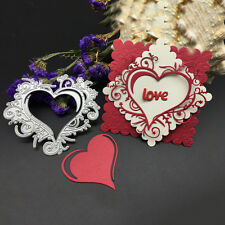 Romantic metal cutting sweetheart lace border Scrapbook paper embossed stencil