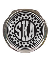 SKA MOD Chequered Logo Car Grille Badge - FREE FIXINGS