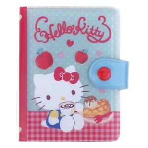 Sanrio Hello Kitty 8 x 10.5 x 2cm PVC Card Holder (13 Card slots + 1 Pocket)