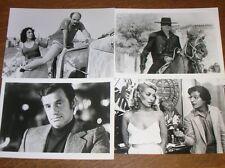 LOT 4 PHOTOS STARS DE CINEMA / DELON, BELMONDO, DENEUVE, CLAVIER, JUGNOT / TBE