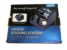 Nifty Tabletop Docking Station Cherry Wood New for iPhone or Android