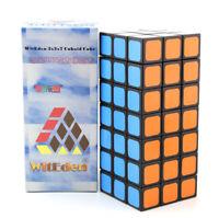 WitEden Standard 337 3x3x7 Full Function Magic Cube Twist Puzzle Black
