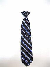 Ralph Lauren/Chaps Boys Clip On Silk Tie