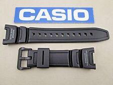 Genuine Casio Twin Sensor SGW-100 black resin rubber watch band strap