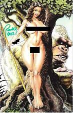 CAVEWOMAN PAGAEN SEA 11 MATURE INTERNET EXCLUSIVE SIGNED AND NUMBERED BUDD