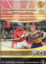 GAA HURLING - CORK V CLARE  14/8/2005 - ALL IRELAND SEMI FINAL