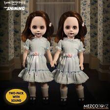 The Shining Living Dead Dolls Talking Grady Twins 25 Cm Mezco