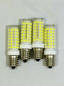 8206232A Ceramic E17 LED Bulb 75W Eq Daylight White 6000K Microwave Appliance-4