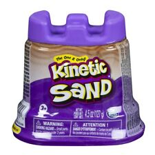 Kinetic Sand Purple 5oz Container-Stress Relief Kids and Adults Purple Color