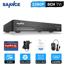 SANNCE 1080P 8CH 5in1 DVR Digital Video Recorder for CCTV Security Camera System