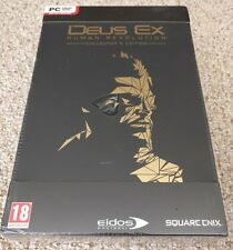 DEUS EX HUMAN REVOLUTION COLLECTOR'S EDITION PC - BRAND NEW FACTORY SEALED