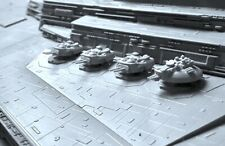 Cannons addition parts for the Star Wars Star Destroyer model kit 1/2700 Zvezda