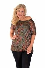 Polyester Tunic Women's Classic Neckline Tops