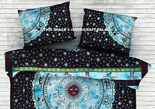 Astrology Mandala Cotton Cushion Cover Indian Boho Home Decor Pillow Sham 28*18