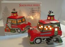 Department 56 Snow Inspector Station North Pole Christmas Village Lighted Figure
