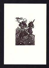 16)Nr.088- EXLIBRIS- Gelegenheitsgraphik - Tod / death - Hedwig zum Tobel